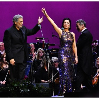 Angela Gheorghiu, concert at O2 Arena London, 29.07.2011