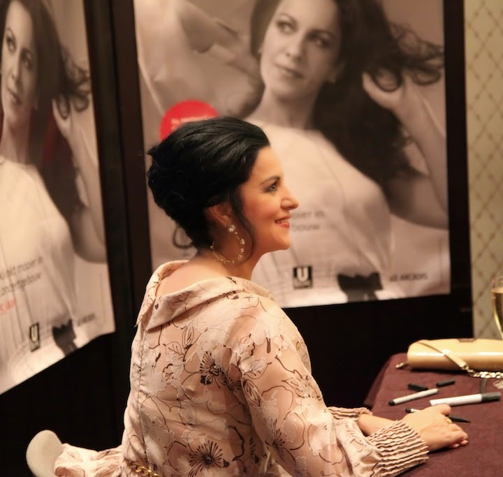 Angela Gheorghiu, signing in Amsterdam, 24.09.2013