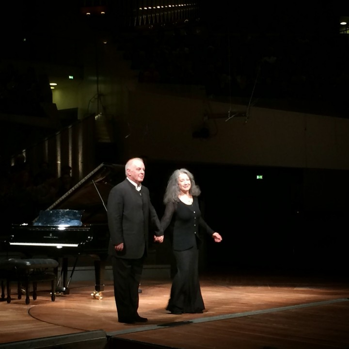 Martha Argerich and Daniel Barenboim, recital in Berlin, 19.04.2014