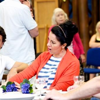Angela Gheorghiu, La Boheme rehearsals, London, 05.07.2014