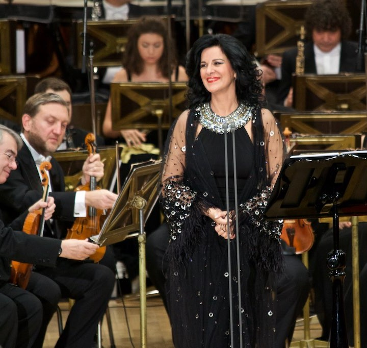 Angela Gheorghiu, benefit concert in Bucharest, 29.11.2015