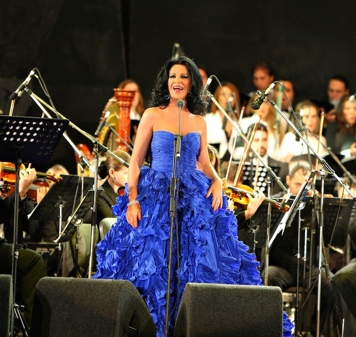 Angela Gheorghiu, concert in Bucharest, 19.09.2009