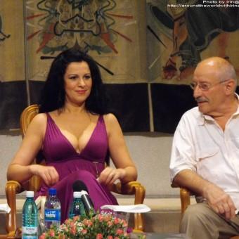 Angela Gheorghiu, Sarbatoarea muzicii press conference, Bucharest, 25.06.2009
