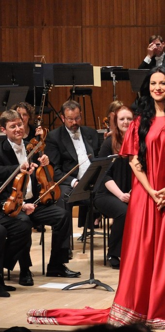 Angela Gheorghiu, concert at the Royal Festival Hall, 10.05.2013