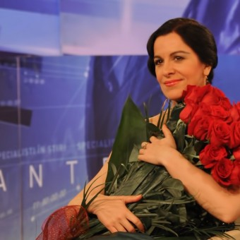 Interview at Antena 3, Bucharest, 20.12.2012