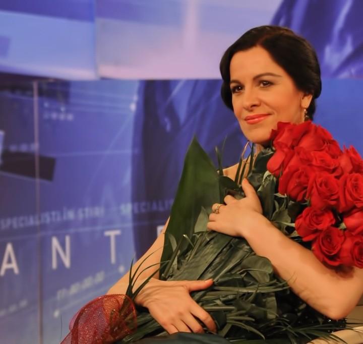 Interview at Antena 3, Bucharest, 20.12.2012