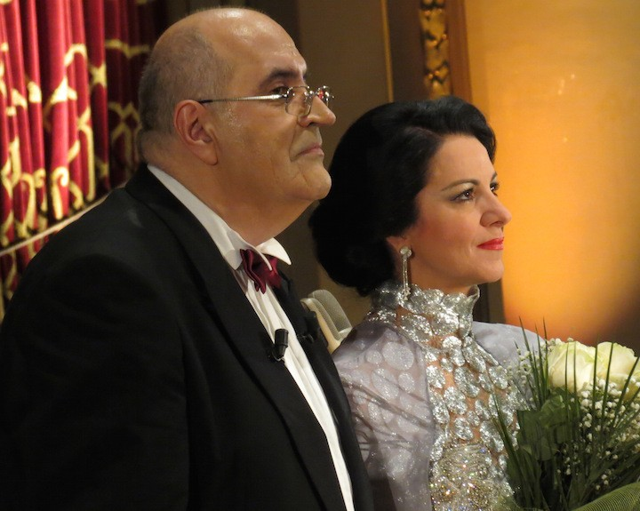 Angela Gheorghiu, Gala at the Athenaeum, 06.04.2013