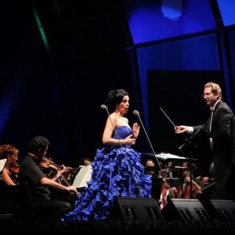 Angela Gheorghiu, concert in Bodrum, 24.08.2013