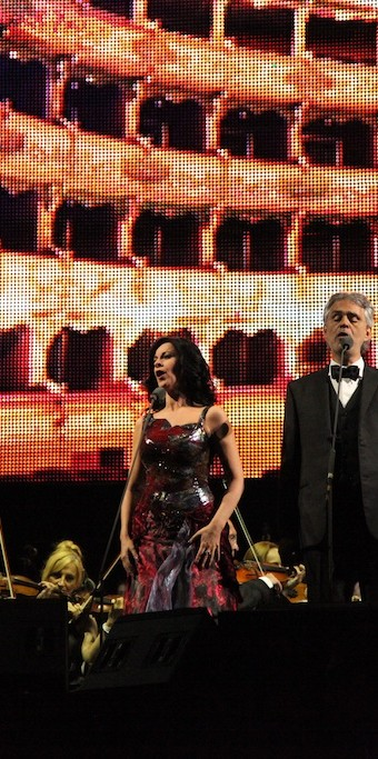 Angela Gheorghiu and Andrea Bocelli, Bucharest, 25.05.2013