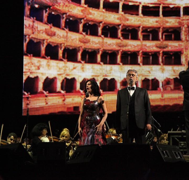 Angela Gheorghiu and Andrea Bocelli, Bucharest, 25.05.2013