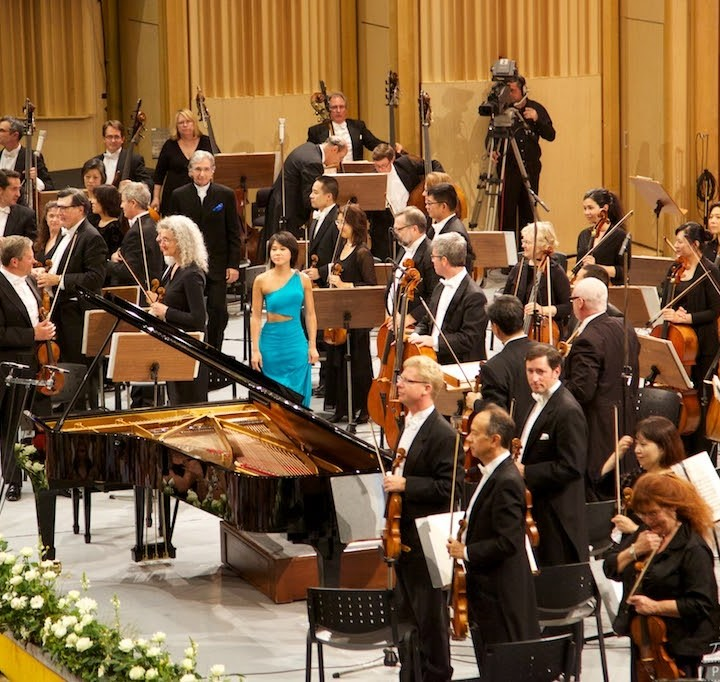 Yuja Wang, concert in Bucharest, 06.09.2015