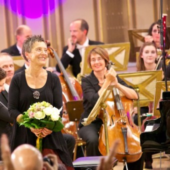 Maria Joao Pires, concert in Bucharest, 08.09.2015