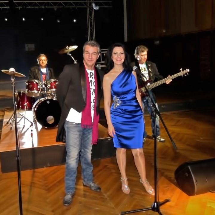 Angela Gheorghiu and Holograf, Bucharest, 24.02.2012