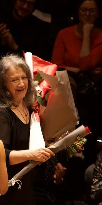 Martha Argerich, Philharmonie Paris, 08.01.2016
