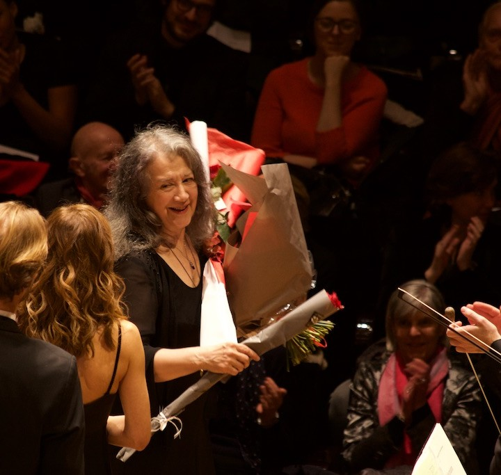 Martha Argerich, Philharmonie Paris, 08.01.2016