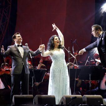 Angela Gheorghiu, Gala concert in Bucharest, 15.09.2017