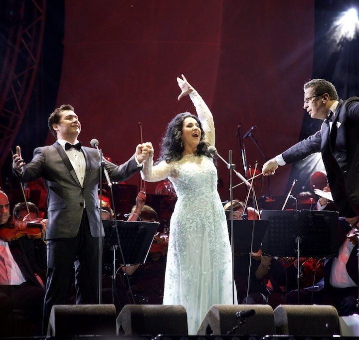 Angela Gheorghiu, Gala concert in Bucharest, 15.09.2017