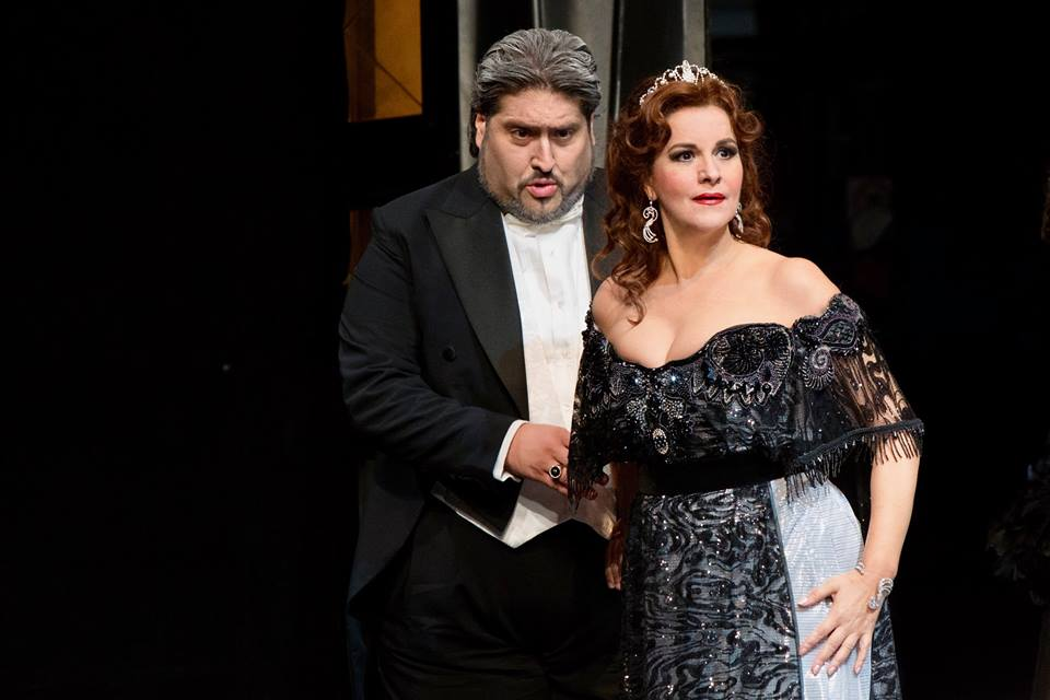 Angela Gheorghiu, Adriana Lecouvreur, Teatro Massimo Palermo