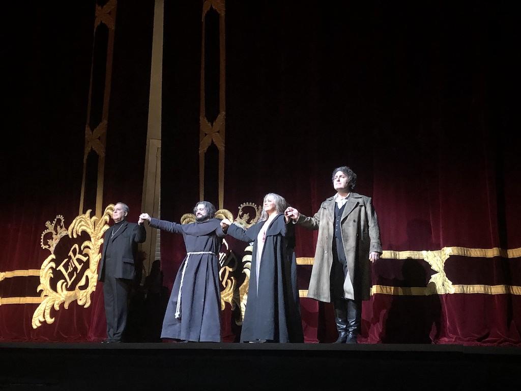 Netrebko, Tezier, Eyvazov, Royal Opera House, La Forza del Destino