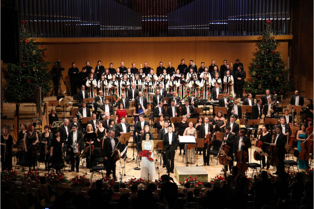 Christmas concert at the Radio Hall, Bucharest, 23.12.2013