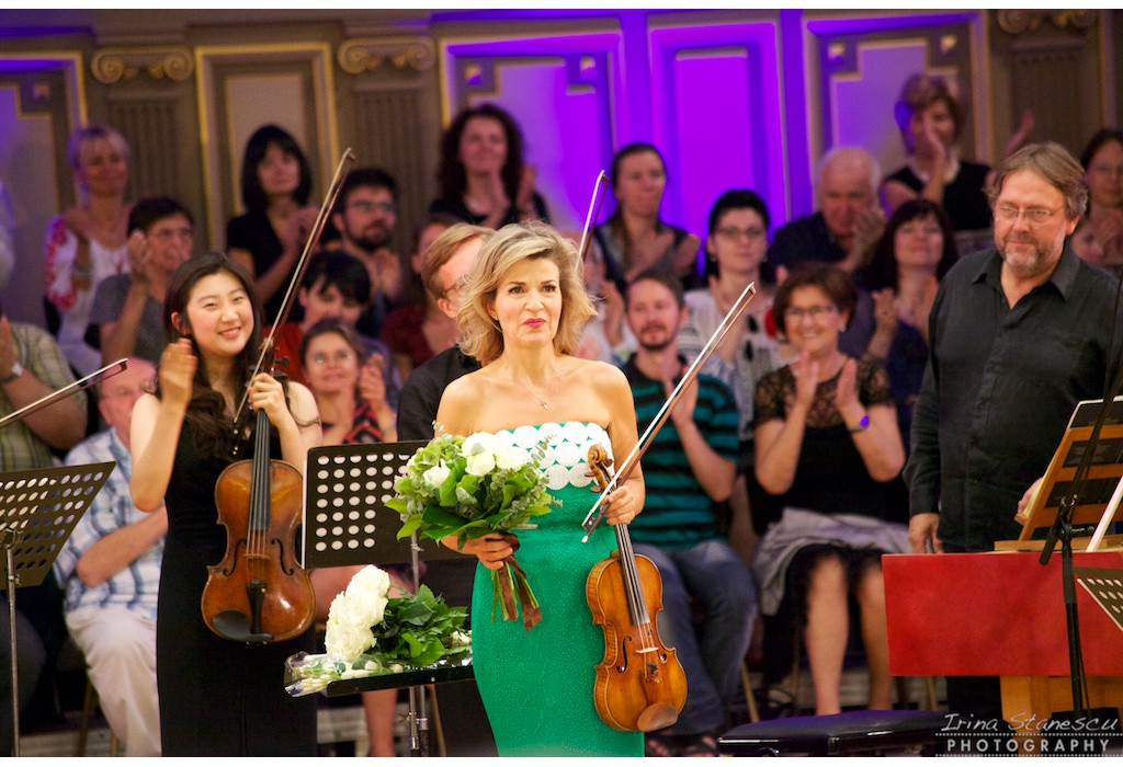 Anne Sophie Mutter and the Mutter Virtuosi. George Enescu Festival, Romanian Athenaeum, 09.09.2015
