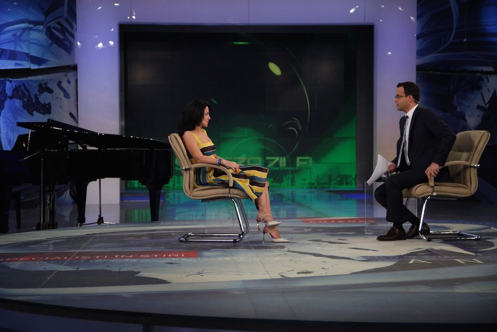 Interview at Antena 3, 23.05.2013
