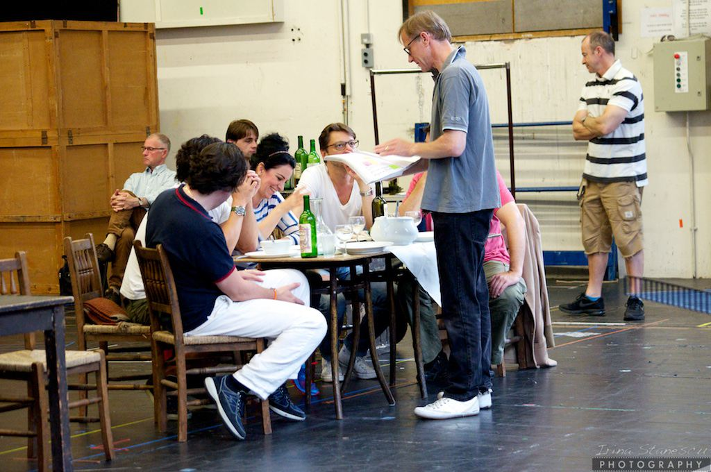 Rehearsals of La Boheme, London, 05.07.2014