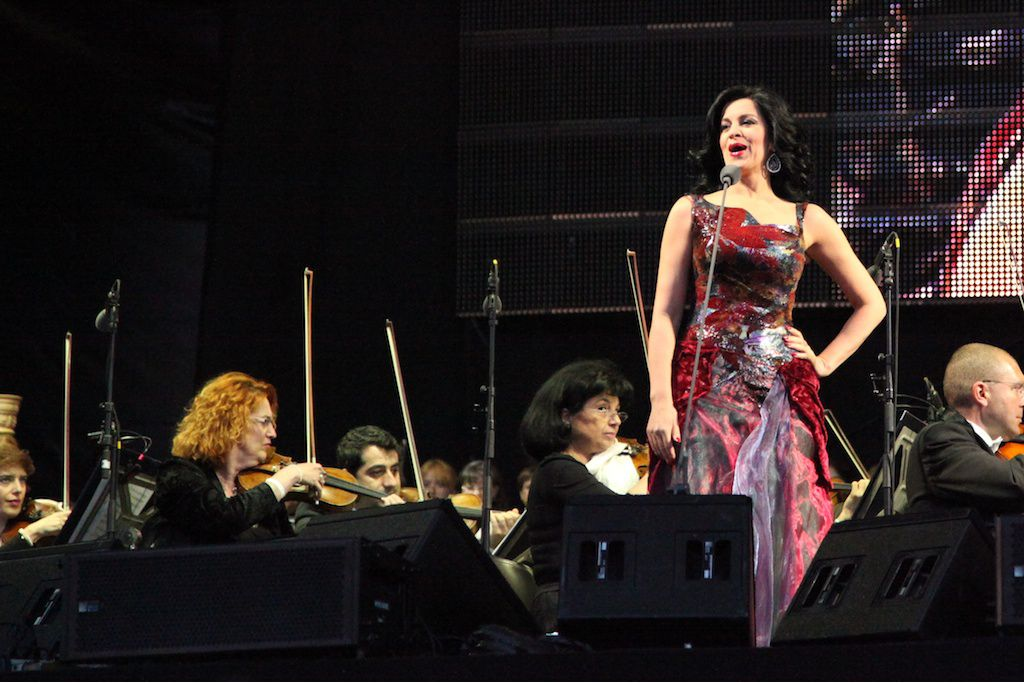 Concert in Bucharest, 25.05.2013